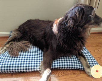 Dog Pillow Bed COVER - Large Pet Crate Pad - Bed Cover for Standard  Bed Pillows - Easy Travel