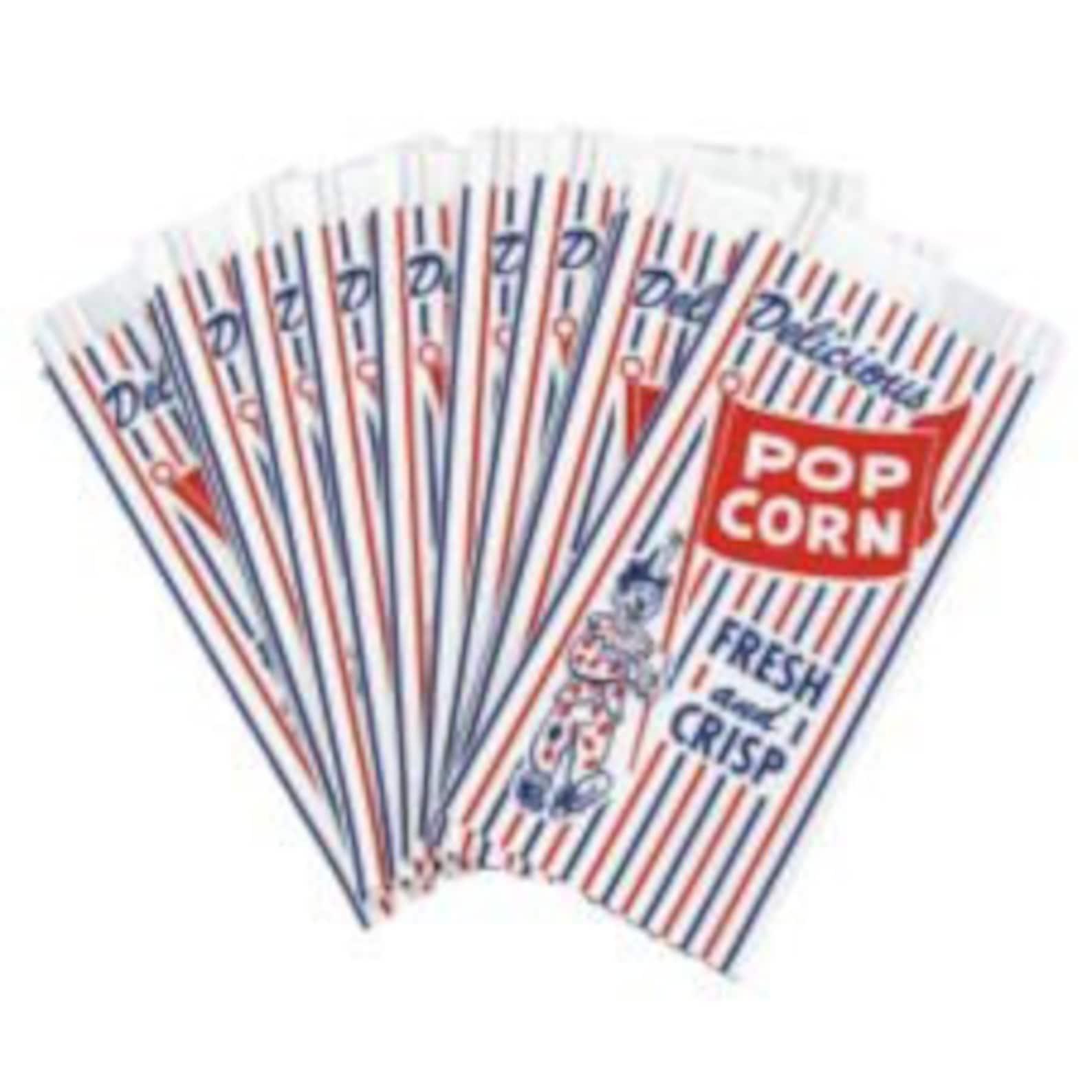 Vintage Style Popcorn Treat Bags