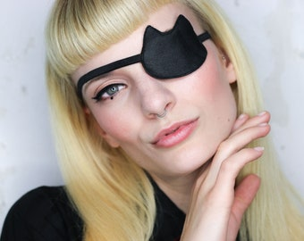 Eye Patch *Black Cat* - Leather | Cosplay