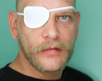 Eye Patch *Plain White* - Cosplay