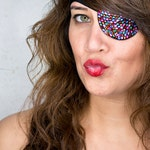 Eye Patch *Rainbow* - Rhinestones | Pride Eyepatch