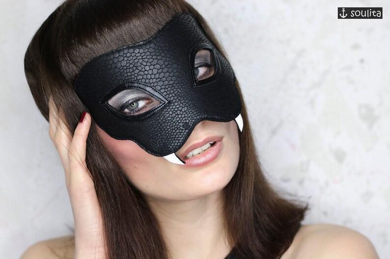 Mask Black Mamba  Snake Mask  Cosplay  Snake Black Mamba