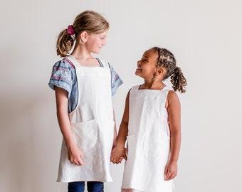 Child Cross-back Apron Size 6-8