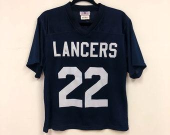 Medium Vintage Football Jersey :  LANCERS Robinson #22
