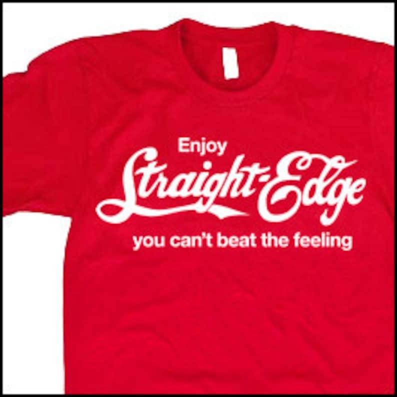 a0720aa5 STRAIGHT EDGE T-Shirt hardcore black metal tshirt cool tshirt | Etsy