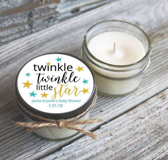 Twinkle Little Star Baby Shower Favor / Set of 12