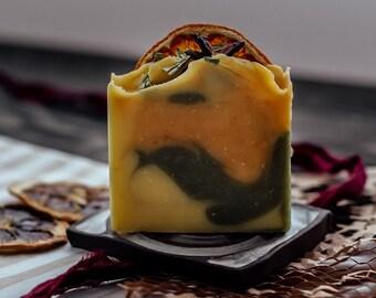 Wild Harvested Mallow & Tangerine Soap