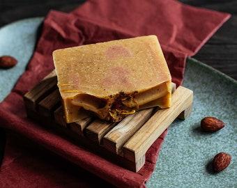 Blushed Apricot & Mascarpone Soap