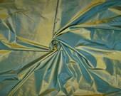 LEE JOFA MORPHEUS Silk Taffeta Fabric 10 yards Iridescent Turquoise