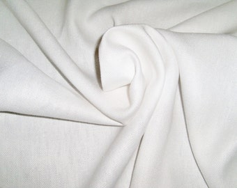 LEE JOFA G P & J Baker Linen Fabric 10 Yards White