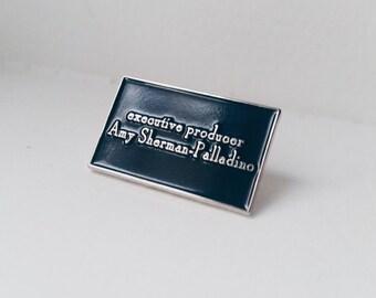 Gilmore Girls Showrunner enamel pin