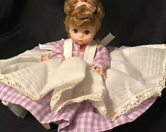 "Vintage Madame Alexander Doll ""Little Women"" Meg Doll Vintage Toys"
