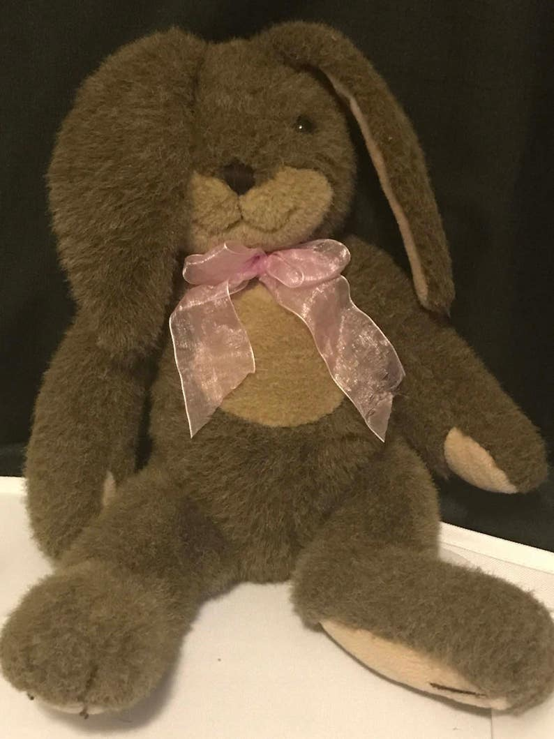 Vintage Bunny Rabbit Plush by Dakin Easter Bunny SALE PRiCE was 14.99 now 9.99