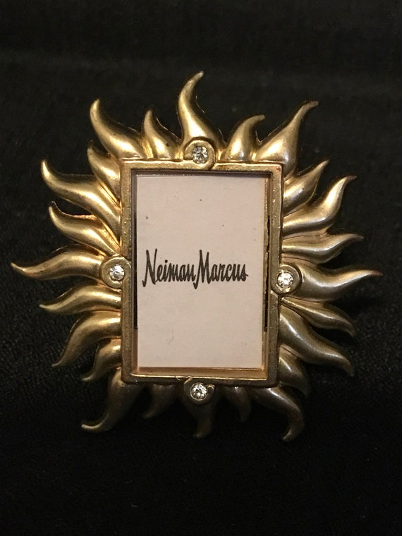Jay Strongwater Miniature Frame from Neiman Marcus Collection Gold ...