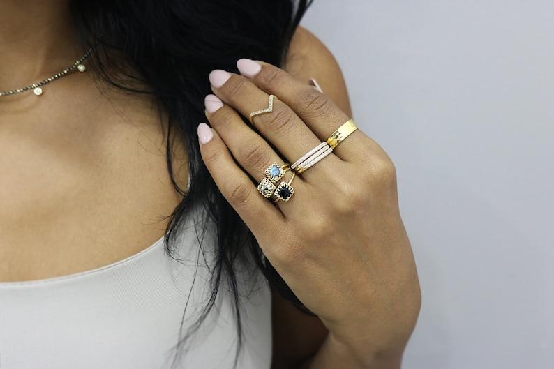 Malachite ring,delicate rings,delicate rose gold ring,gemstone ring,thin rings for women,thin gold ring,14k thin ring