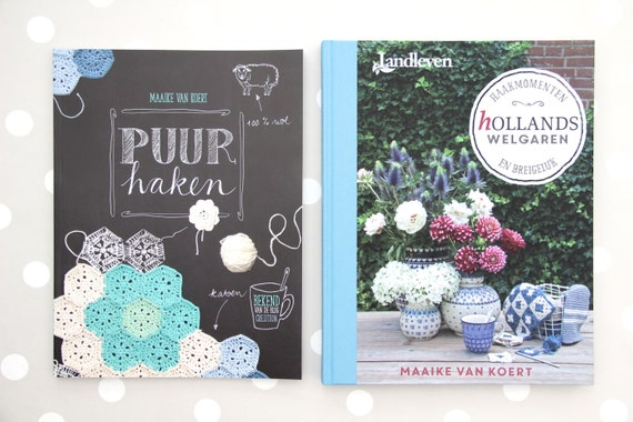 Puur Haken And Hollands Welgaren Crochet And Knitting Books Etsy