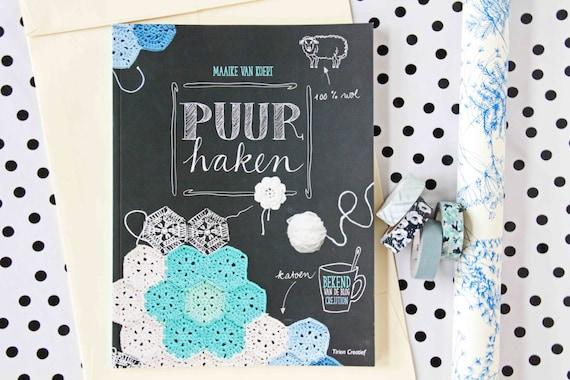 Puur Haken Crochet Book Etsy