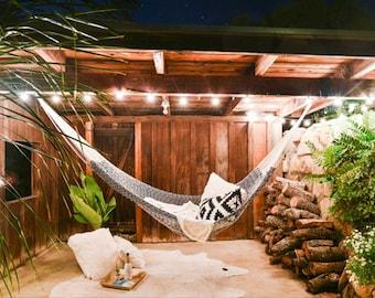Outdoor Hammock - Montauk Cotton Rope (2+ People)   Free Shipping