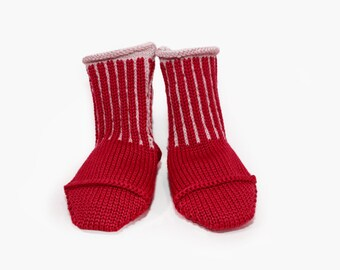 Knitted woolen Babysocks