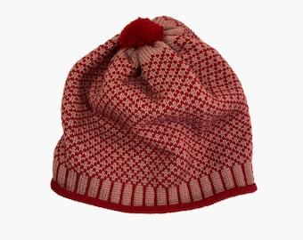 Bobbelhat with small check - vincente