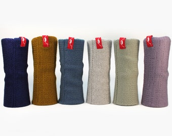 Cuffs, warm and highly elastic from poor wool(Merino)
