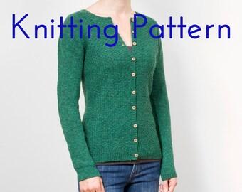 92382387a Top down knit raglan