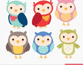 owl clip art etsy rh etsy com clip art owls free clip art owls cute