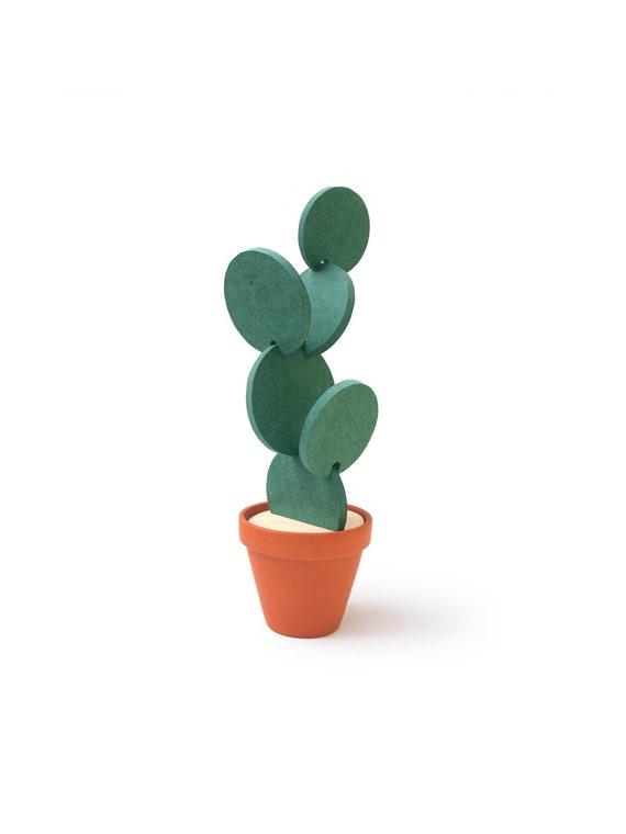 Coasters Cactus Cactus Coaster Coaster Set Cacti Etsy