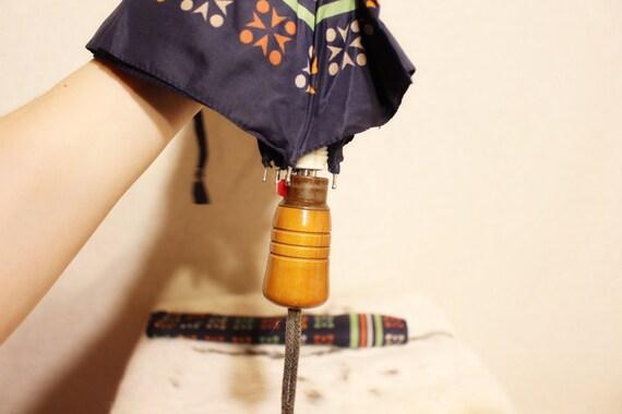 Vintage umbrella Colorful rain umbrella parasol S… - image 7
