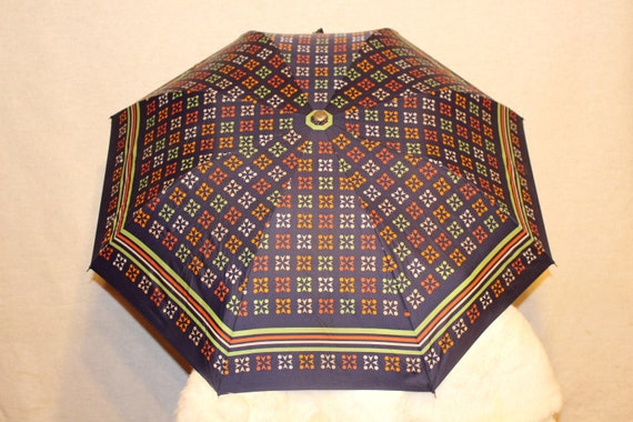Vintage umbrella Colorful rain umbrella parasol So
