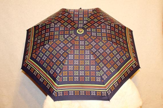 Vintage umbrella Colorful rain umbrella parasol S… - image 8