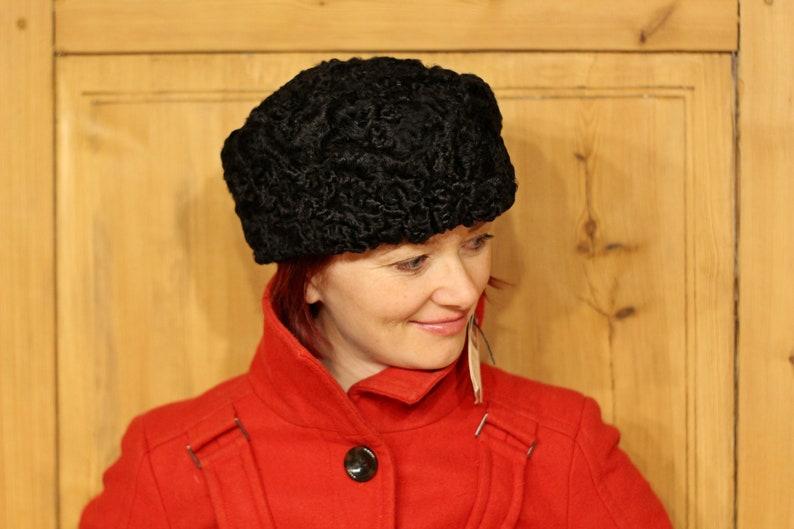 e3d9510a735ff Sheepskin hat Fur hat NEW KARAKUL hat Persian lamb fur hat