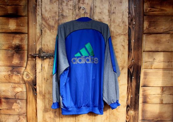 Vintage Adidas mens sweatshirt tracksuit SIZE M 90