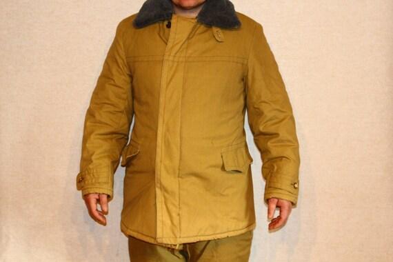 Soviet padded coat trousers SIZE 50 Soviet vintage