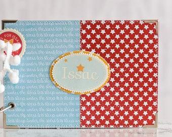 Baby Boy Memory Book, Custom Made Baby Book, Personalized Baby Boy Photo Album, New Baby Keepsake Album, Baby Shower Gift, 6 x 4 photos