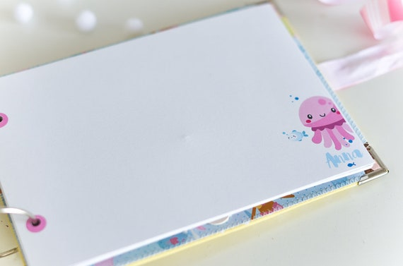 Bebe Fille Personnalise Sirene Le Livre D Or Baby Shower