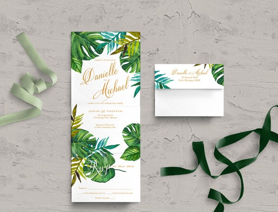 Seal And Send Wedding Invitations.Seal And Send Wedding Invitations Tropical Wedding Invites Affordable Destination Wedding Invitations Passionate Design