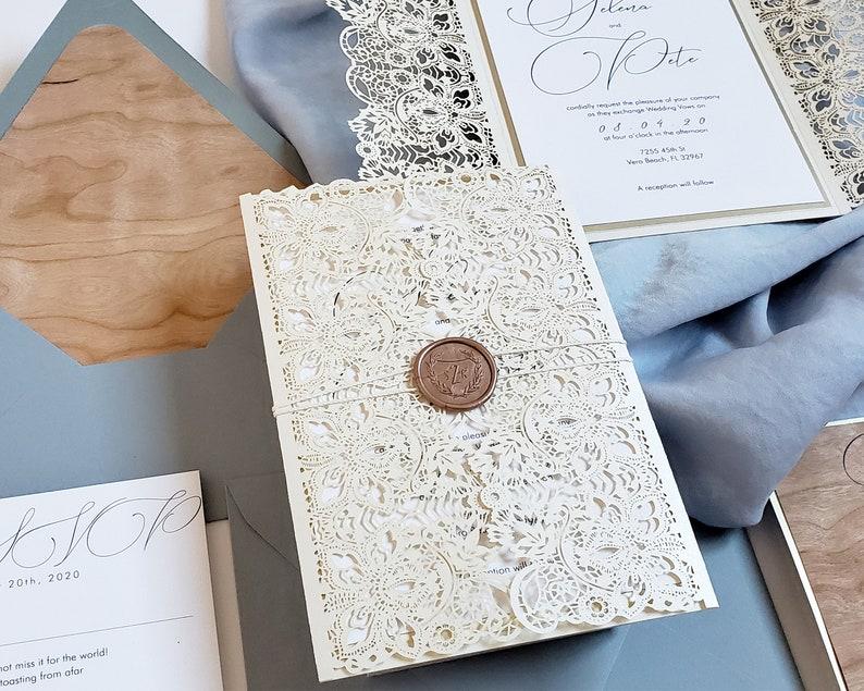 Romantic Wedding Invitations Souther Charm Wedding Etsy