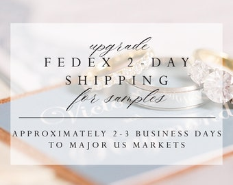 Upgrade to FEDEX EXPRESS 2-day For US Only, for Samples only (max 5 samples)