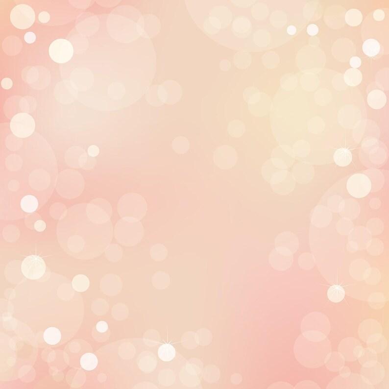 Soft Pink Bokeh  Vinyl Photography  Backdrop Photo Prop image 0