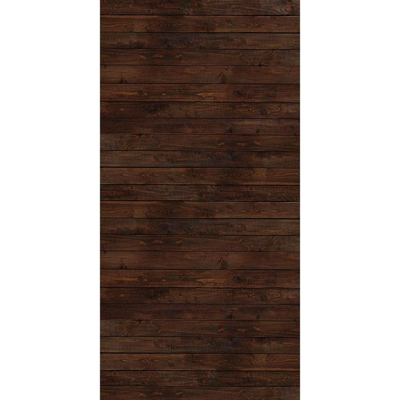 Dark Winter Wood All-in-One  Vinyl Photography  Backdrop image 0