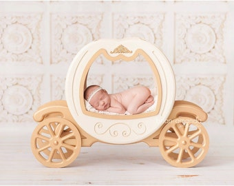 White Carved Wood - Vinyl Photography Backdrop