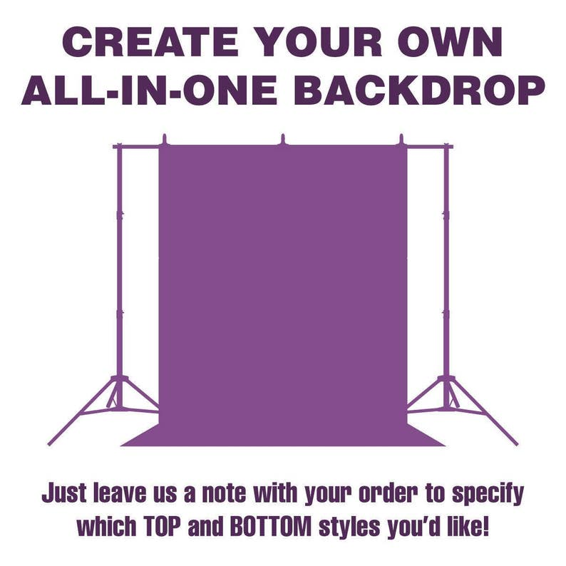 Create Your Own All-in-One  Vinyl Photography  Backdrop Photo image 0