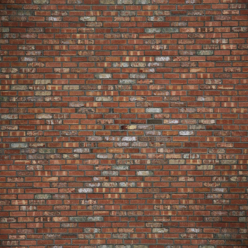 Old Town Brick  Exclusive  Vinyl Photography Backdrop image 0