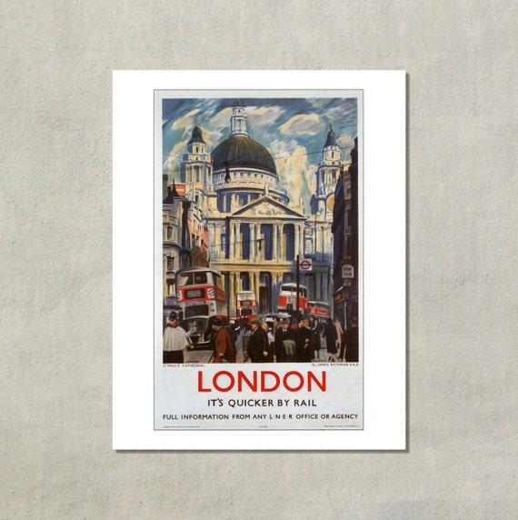 Kunst Kunstplakate TX54 Vintage 1920's York Yorkshire LNER Railway Framed Travel Poster A3/A4