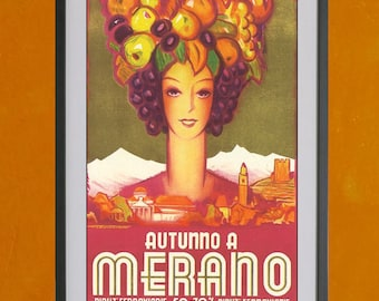 Autunno A Merano - 8.5x11 Poster Print - also available in 13x19 - see listing details