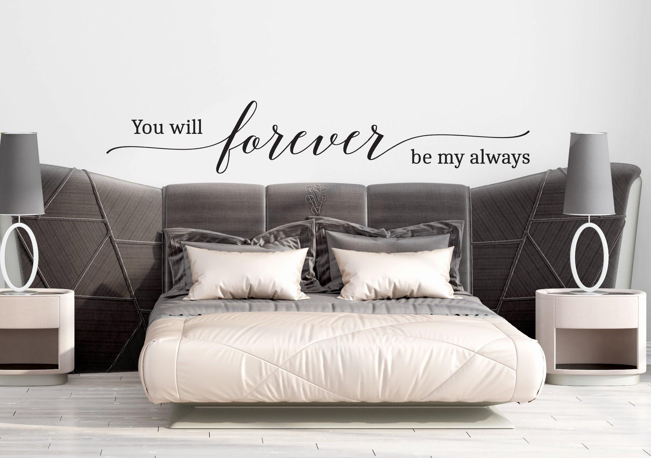 Always and Forever sticker Vinyl Picture Frame Wedding Valentines