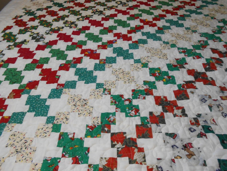 Christmas Quilt 60 x 67
