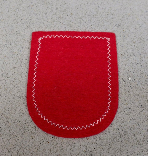 Vintage Woven England Travel Patch - image 2
