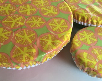 Elastic Bowl Covers, Fabric Bowl Covers, Sets and Singles,
